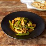 tofu green beans