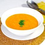 cantaloupe gazpacho