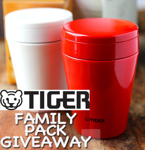 Tiger thermal soup cups giveaway
