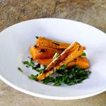 Oven Baked Glazed Carrots