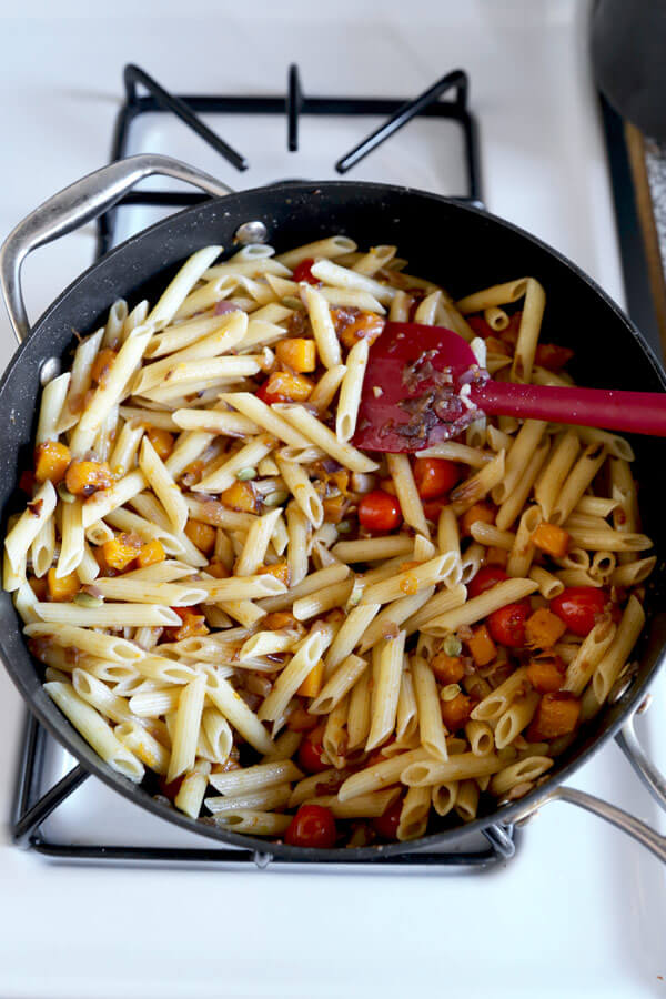 penne-cooking