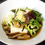 tofu mushroom sauce