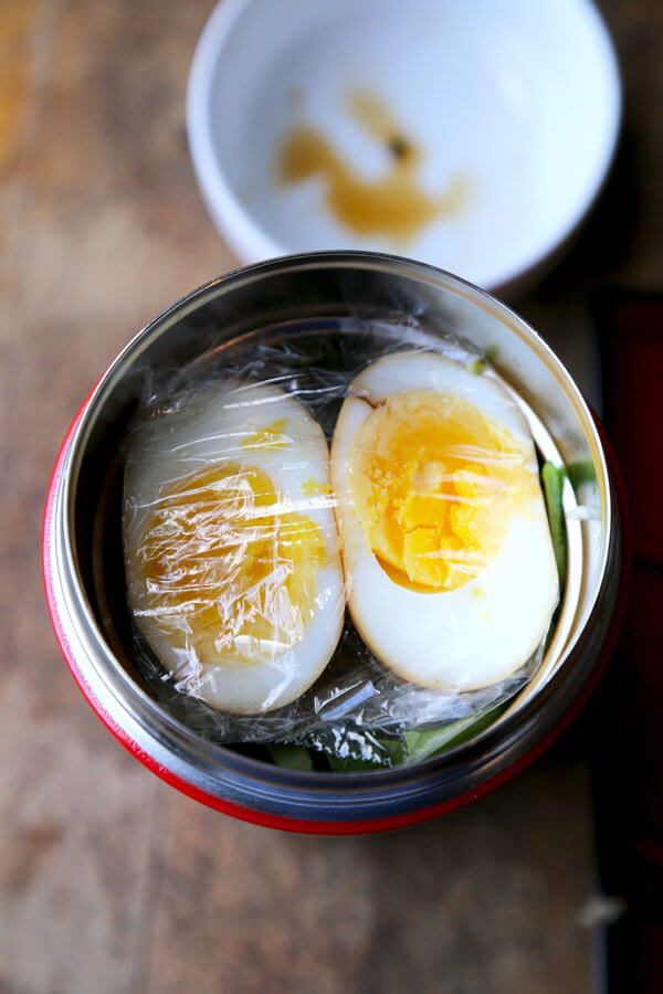 ramen noodle soup to go (easy) - pickled plum food and drinks