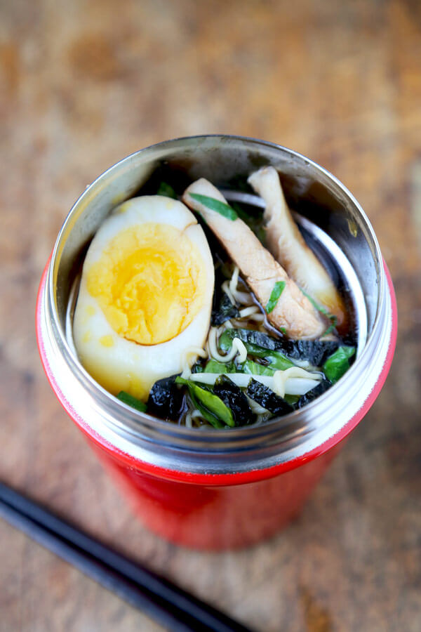 Ramen Noodle Soup To Go Easy Pickled Plum Food And Drinks