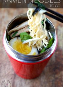 RAMEN NOODLES TO GO RECIPE