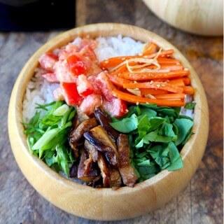 vegetarian chirashizushi
