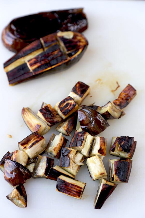 sliced-eggplant-board