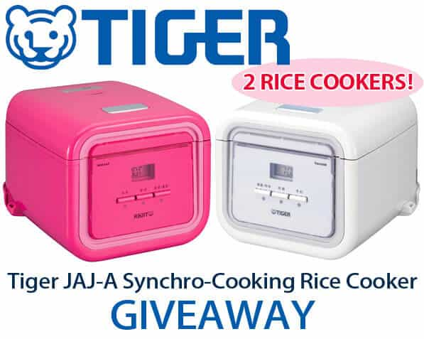 Tiger JAJ-A Synchro-Cooking Rice Cooker Giveaway - Pickled Plum Food