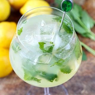 Mint Lemonade Recipe (Low Sugar