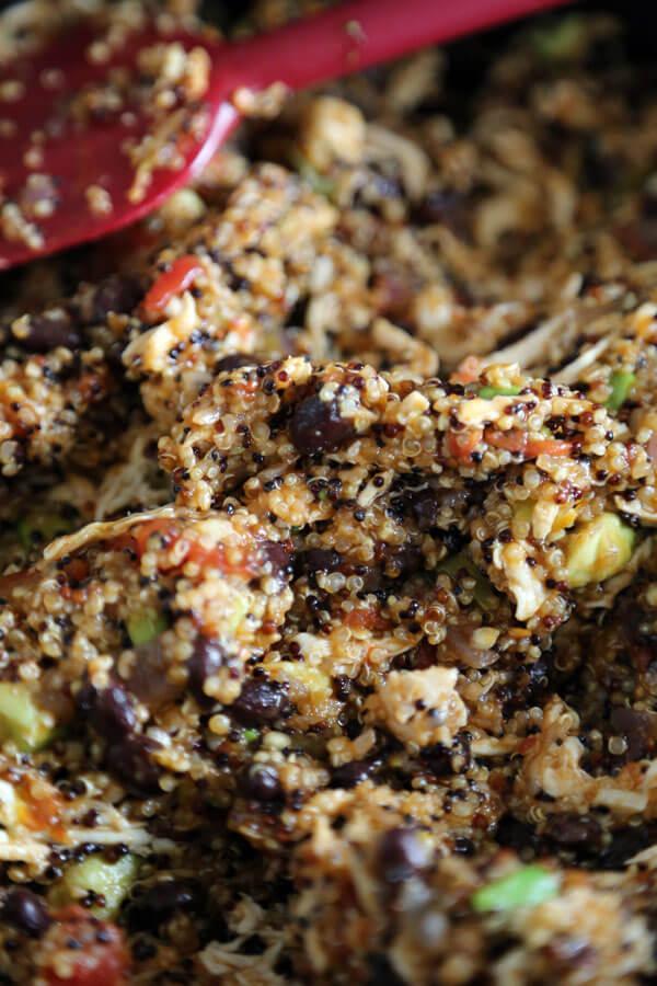 quinoa-enchilada