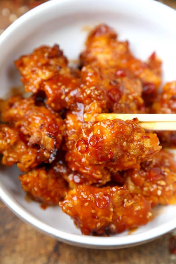 baked general Tso chicken recipe