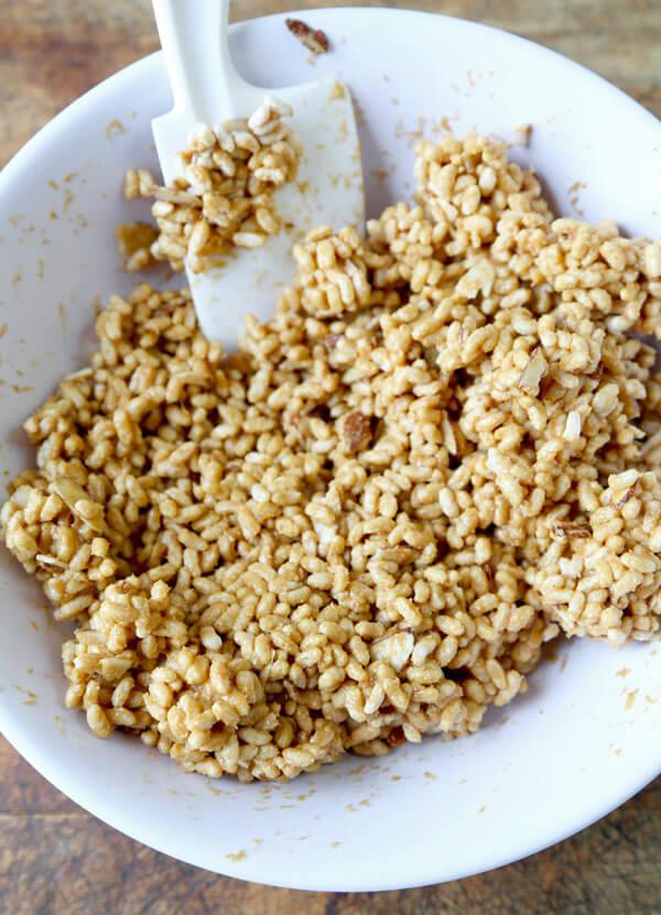 Healthy Rice Crispy Treat Recipe