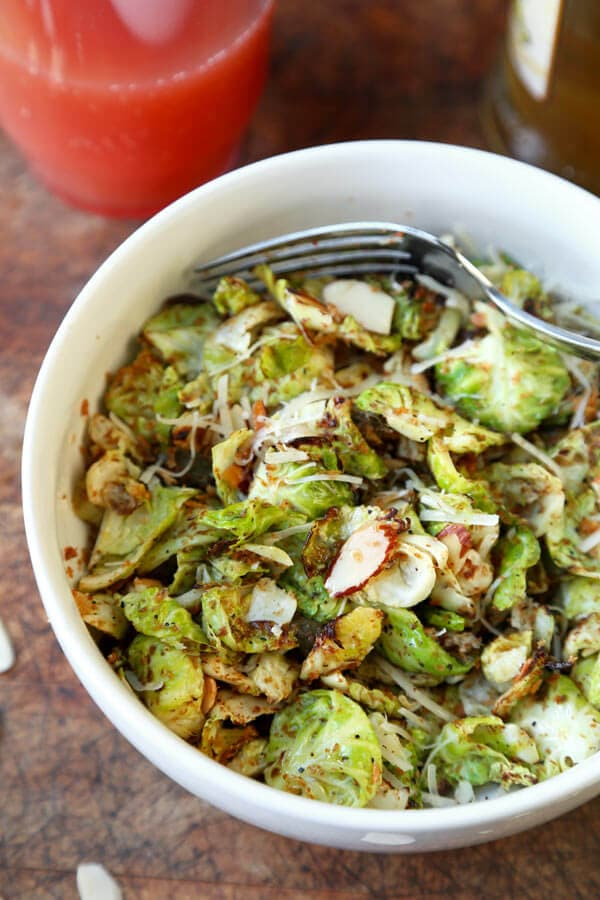 sautéed Brussels sprouts 1