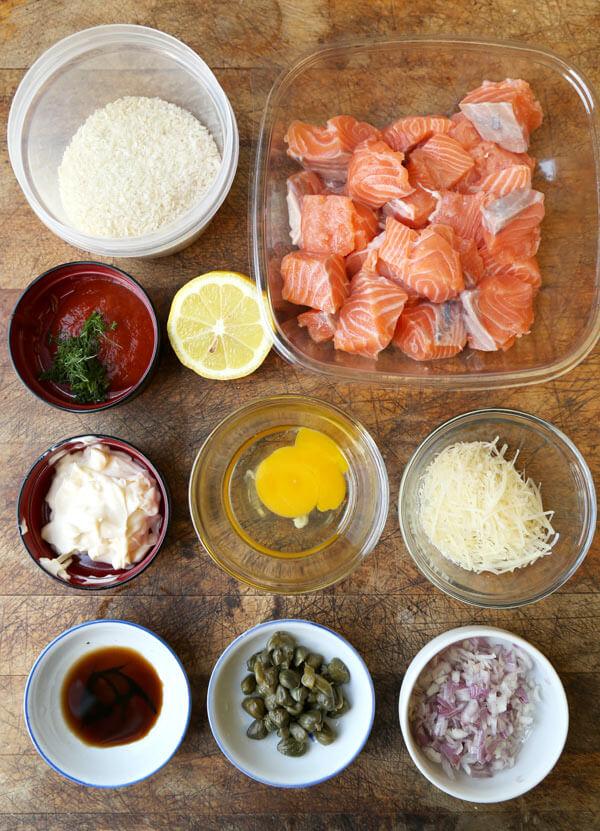 salmon croquettes salmon patties ingredients
