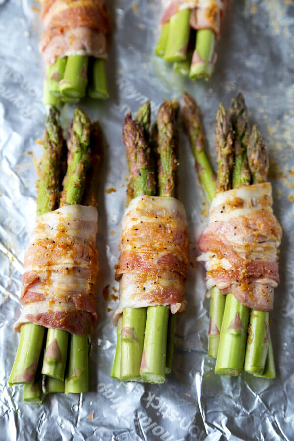 asparagus-wrapped