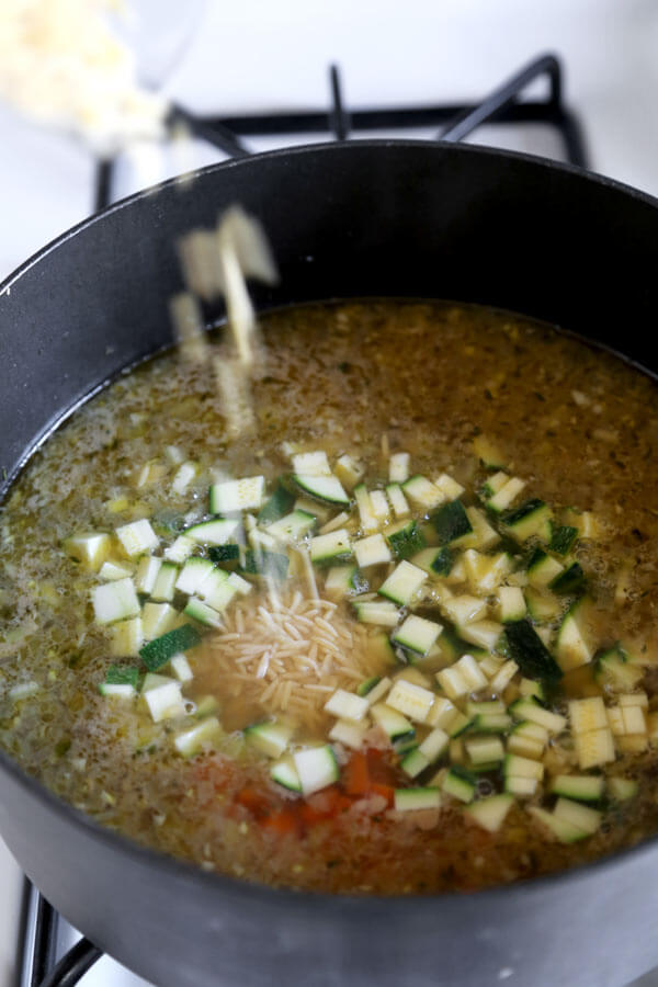 orzo-added-to-soup