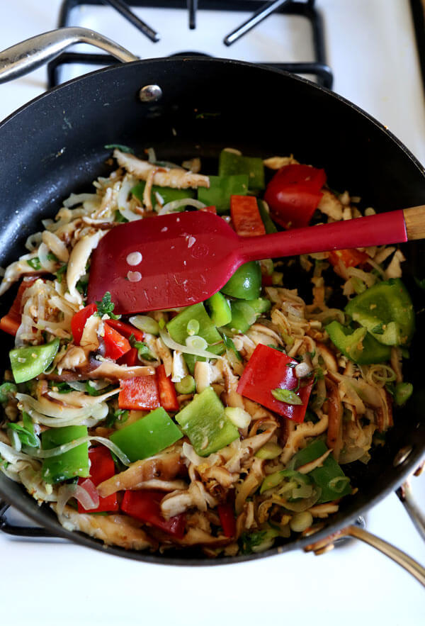 peppers-stir-fried