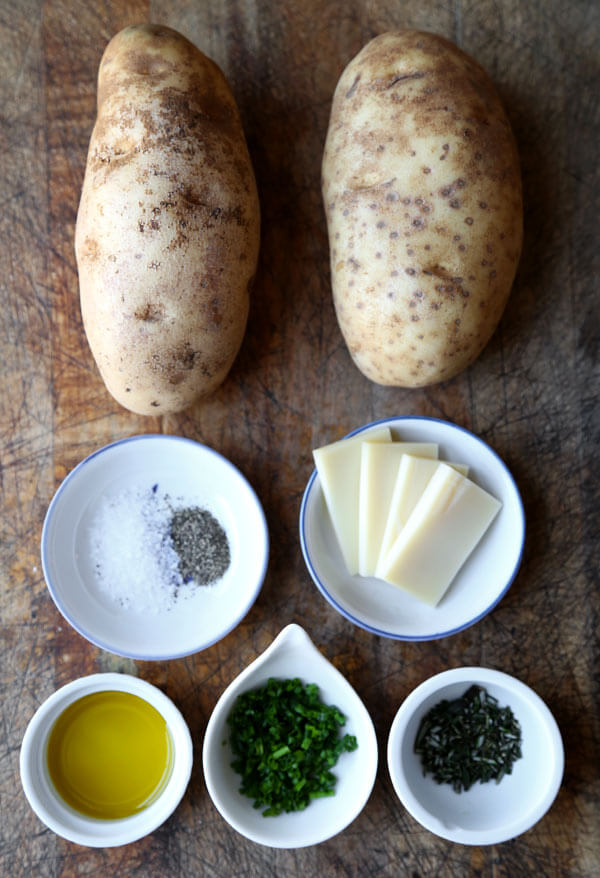 baked-sliced-potatoes-ingredients