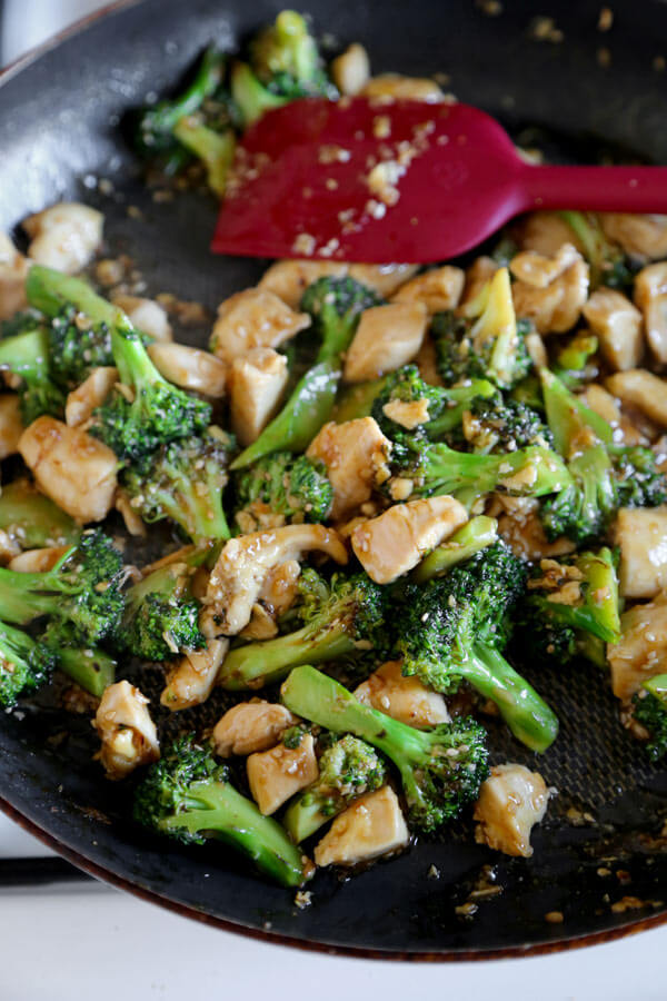 broccoli-stir-frying