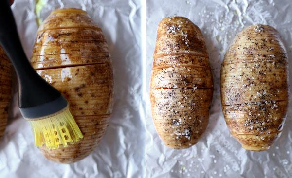 brushing-and-salting-potatoes
