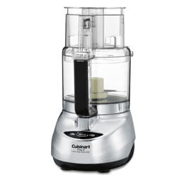 FOR THE SERIOUS COOK Cuisinart DLC-2009CHBM Prep 9 9-Cup Food Processor - Anyone who is serious about cooking deserves a top notch food processor. This model comes chopping, slicing and shredding discs. A spatula and recipe book are also included. SHOP
