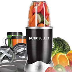 FOR THE HEALTH CONSCIOUS Magic Bullet Nutribullet - Making smoothies has never been so easy! Since owning a NutriBullet I've become addicted to making healthy smoothies. Little cleaning is needed since the cup used to blend the ingredients is the cup you drink from. SHOP