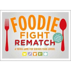FOR THE TRIVIA MASTER Foodie Fight Rematch - Test your culinary knowledge and get ready to prove who's the smartest foodie in the kitchen!
