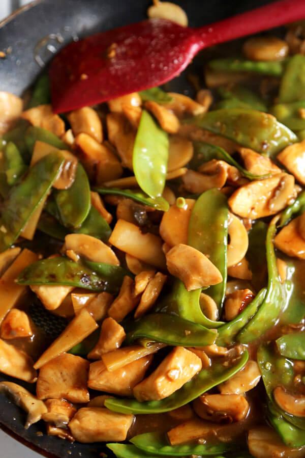 Moo Goo Gai Pan 蘑菇雞片 Pickled Plum Food And Drinks