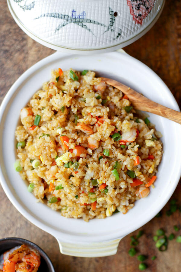 Easy Shrimp Fried Rice Recipe Pickled Plum Food And Drinks