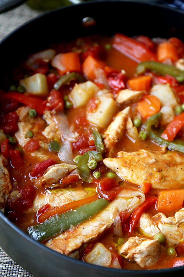 Chicken Afritada Recipe - Pickled Plum Food And Drinks