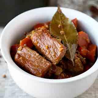 Pork Adobo Recipe (with Carrots)