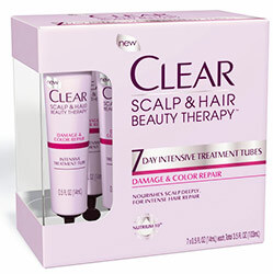 Clear 7 Day Intensive Treatment Tubes - Heal and nourish your scalp and hair with this 7 day treatment.