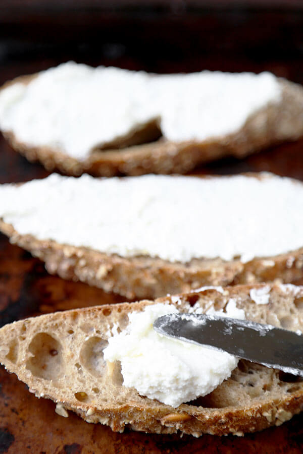 ricotta-on-toast