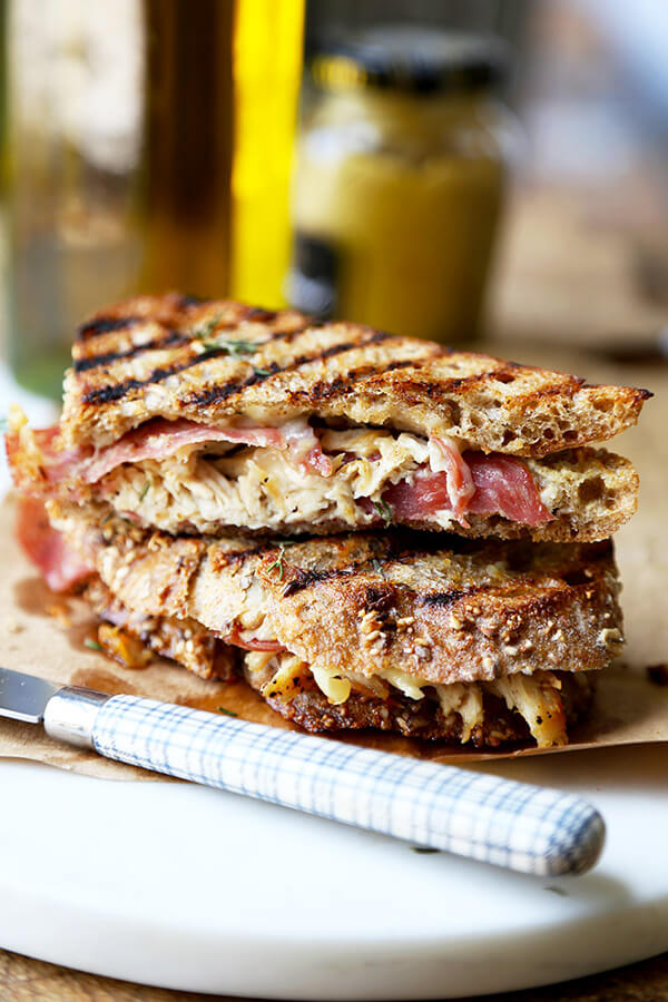 Chicken Cordon Bleu Sandwich Video Pickled Plum Food And Drinks