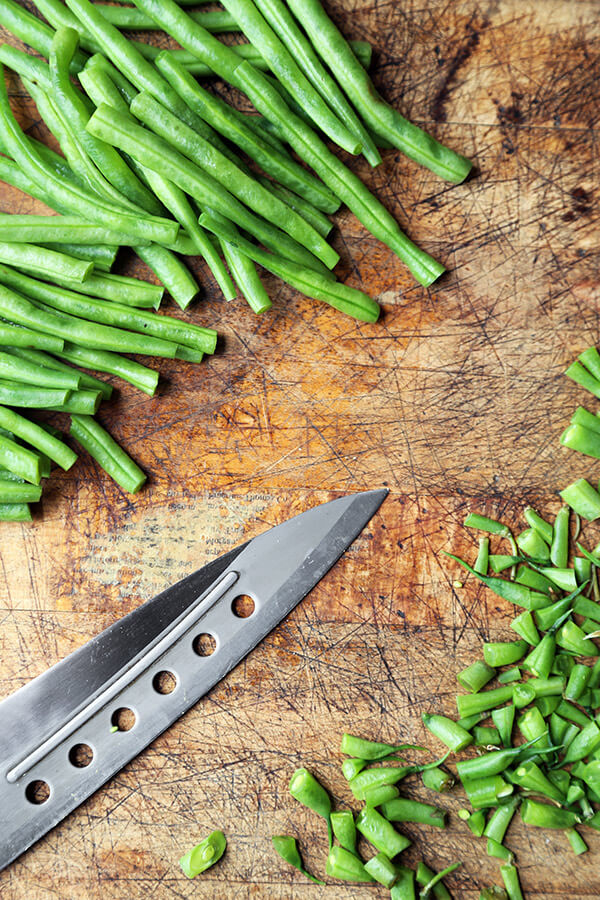 chopped-green-beans