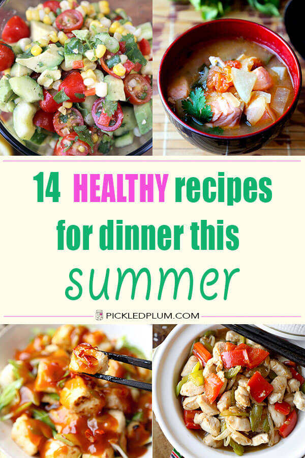 healthy dinner recipes roundup
