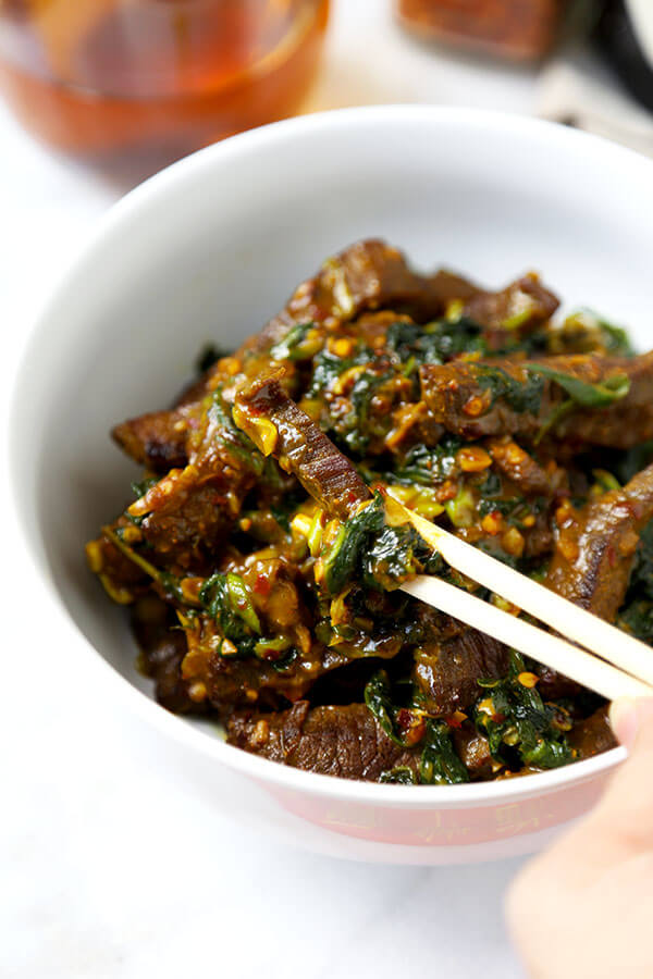Hunan Beef With Cumin Recipe Pickled Plum Food And Drinks
