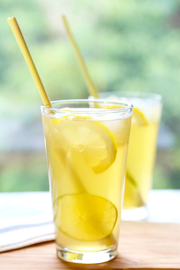 Lemongrass Iced Green Tea Recipe Pickled Plum Food And