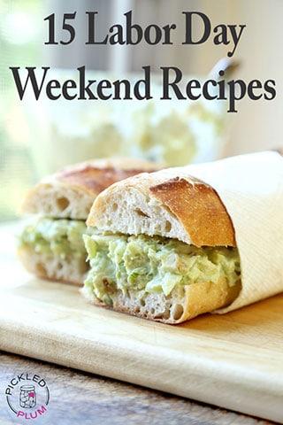 labor recipes weekend food drinks
