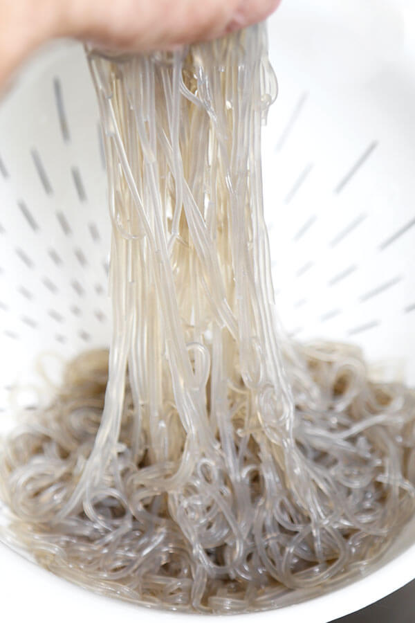 sweet potato noodles (glass noodles)