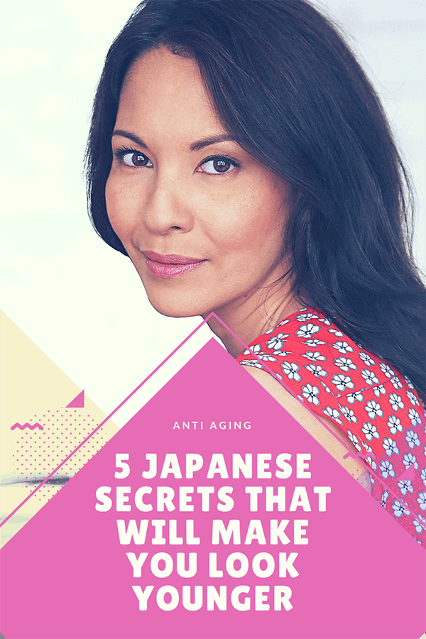 Japanese skin care secrets, beauty secrets to have younger looking skin.