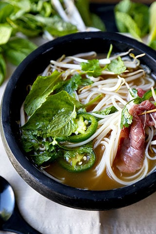 Easy Beef Pho Soup Recipe - Phở Bò - Pickled Plum Food And