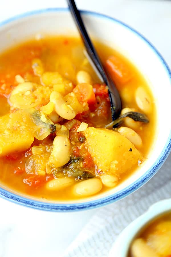Slow Cooker Vegetable Soup Pickled Plum Food And Drinks