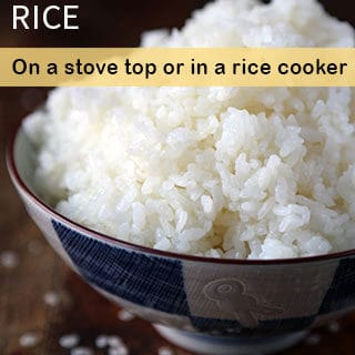 How to Make Japanese Rice (Video)