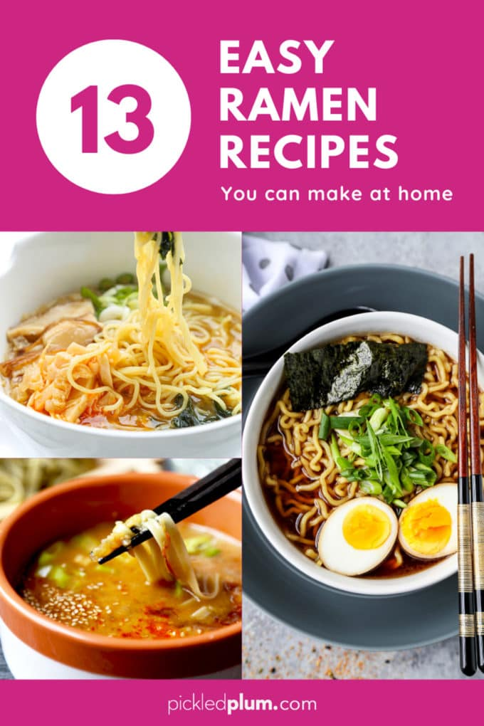 easy ramen recipes you can make at home