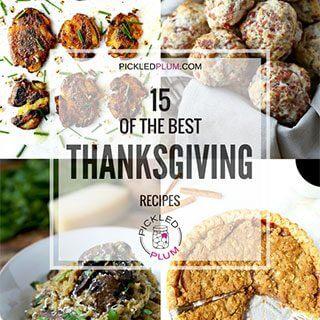 15 Best Thanksgiving Recipes