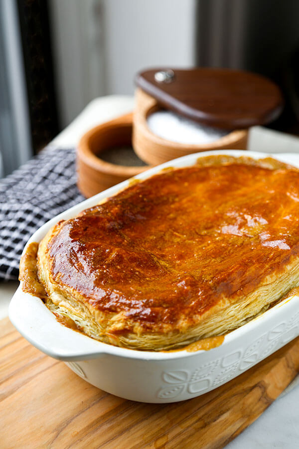 Hearty Vegetable Pot Pie Pickled Plum Food And Drinks