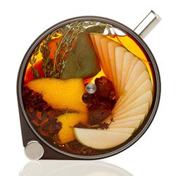 PORTHOLE INFUSER - Look at how pretty this infuser it! It can be used to create striking cocktails, oils, teas, dressings, lemonade and coffees. SHOP