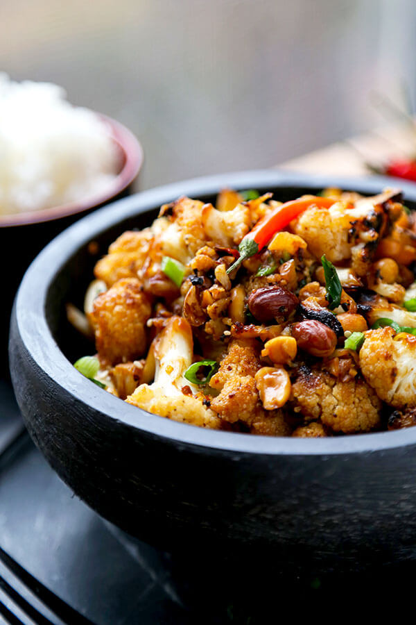 Kung Pao Cauliflower Recipe Pickled Plum Food And Drinks