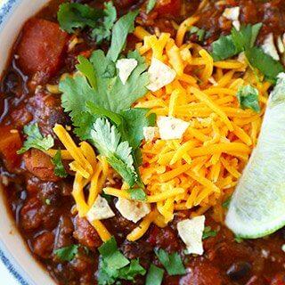Vegetarian Chili Recipe (My Favorite)